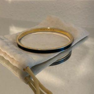 "Kate Spade idiom ""Draw The Line"" bangle bracelet"
